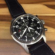 IWC Pilot Chronograph Santoni Strap Mark 18