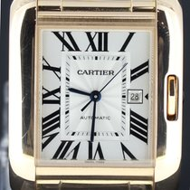 Cartier Tank Anglaise Grand Modele Automat, Pink Gold Full Set...