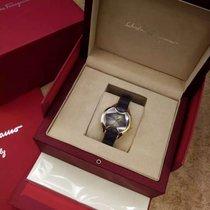 Salvatore Ferragamo Signature Diamonds Gold