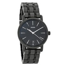 Rado Diamaster Series Ladies Black Dial Swiss Quartz Watch...