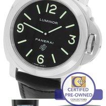 Panerai PAM 000 N Luminor Base Black Automatic 44mm Watch...