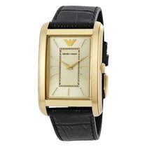 Armani Classic Gold Dial Ladies Watch AR1902