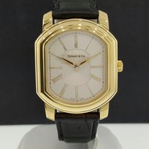 Tiffany & Co. 18k Yellow Gold Mark Coupe Quartz Watch...