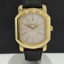 Tiffany & Co. 18k Yellow Gold Mark Coupe Quartz Watch...
