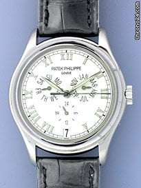 Patek Philippe Gent&amp;#39;s 18K White Gold  5035 Annual Calendar