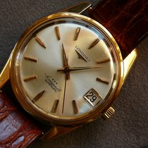 Longines Conquest 750 Rosegold 18K Pink Gold Cal. 291 1960,...