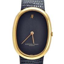 Audemars Piguet 18k Yellow Gold Vintage watch on Leather