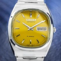 Citizen Vintage Mens Rare 21 Jewels Stainless Steel Automatic...