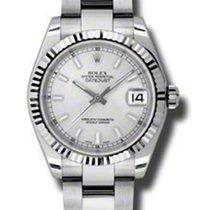 Rolex Datejust 31mm - Steel Fluted Bezel - Jubilee Bracelet