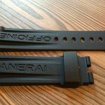 Panerai rubber set 24/22mm fit 44mm case / Deployment clasp