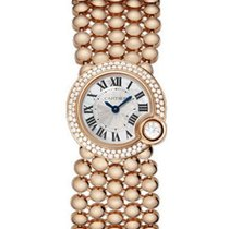 Cartier WE902057 Ballon Blanc de Cartier Ladies Mini Quartz in...
