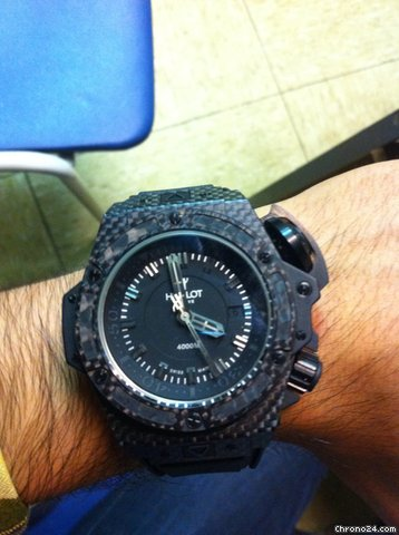 Hublot big bang king oceangraphic 4000m limited edition