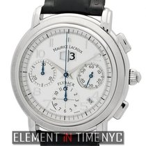 Maurice Lacroix Masterpiece Flyback Annuaire 40mm Stainless...