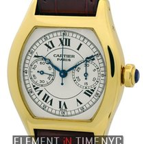 Cartier Tortue Collection Tortue Monopulsante Chronograph 18k...