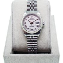 Rolex Datejust 69174  Roman Numeral Dial Stainless Steel Watch
