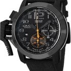 Graham Chronofighter Oversize Automatic Chronograph Black Dial...