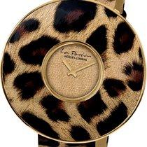 Jacques Lemans La Passion LP-121A Damenarmbanduhr Leopardenlook