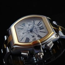 Cartier Roadster Chronograph Steel & 18k Gold