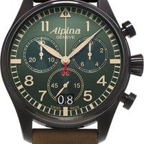 Alpina Geneve Startimer Pilot AL-372GR4FBS6 Herrenchronograph...