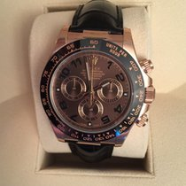 Rolex Cosmograph Daytona Everose Gold Chocolate ARAB Dial 40MM