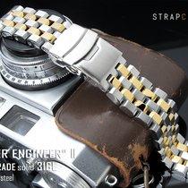 Seiko 20mm Engineer II IP Gold Tone Watch Bracelet
