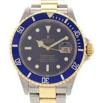 Rolex Men's Rolex Submariner 18K Yellow Gold & SS...
