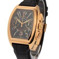 Franck Muller Conquistador Chronograph in Rose Gold