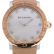 Bulgari Bvlgari 37 Automatic Leather