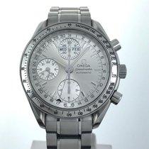 Omega Speedmaster Triple Date Silver Chronograph 3523.30