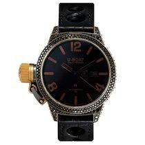 U-Boat Classico Black Swan 18ct Yellow Gold & Diamonds