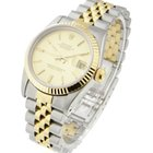 Rolex Mid Size Datejust 2 Tone with Jubilee Bracelet - Fluted...