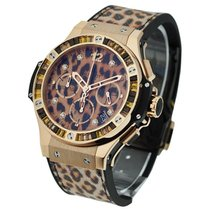 Hublot Big Bang 41mm Gold Leopard