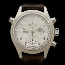 IWC Pilots Chronograph Spitfire Doppel Chronograph Stainless...