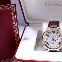Cartier Ballon Bleu 3107 / W6920074 18K Rose Gold Chronograph