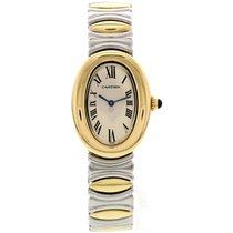 Cartier Ladies Cartier Baignoire 18K Yellow Gold &...
