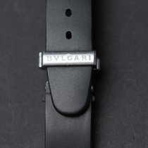 Bulgari Rubber Watchstrap Length: 19 cm Width: 21 mm