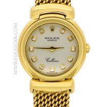 Rolex 18k yellow gold lady Cellini