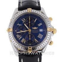Breitling Chronomat B13355 18K/SS Gold Two Tone Mens Chrono