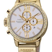 Haemmer DSC-05 Diamante Damen Chronograph 45mm 10ATM