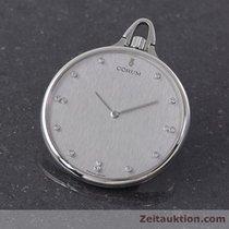 Corum 950 Platin Taschenuhr Lepine Handaufzug Diamanten...
