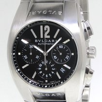 Bulgari Ergon Chronograph Stainless Steel Automatic Mens Watch...