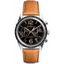 Bell & Ross Vintage 126 GMT Chronograph BRV126-FLY-GMT/SCA