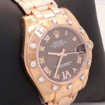 Rolex Masterpiece 81315 18k Rose Gold Chocolate Dial Diamond...