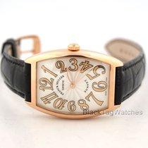 Franck Muller Cintree Curvex Midsize Watch Rose Gold Sunset...