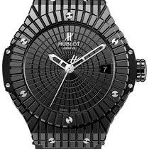 Hublot Big Bang Caviar 346.CX.1800.RX Black Ceramic 41mm Watch
