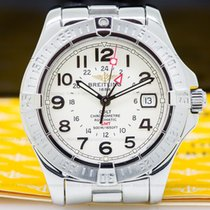 Breitling A32350 Colt GMT Silver Dial SS / SS (26070)