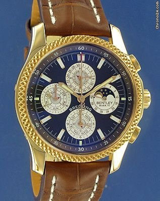 Breitling Bentley Mark VI Complications 29 Special Edition- Pink Gold --NEW--