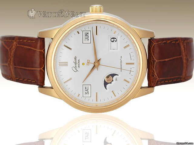 Glashtte Original Senator Perpetual Calendar - 40mm Rose Gold - 100.2.11.01.04