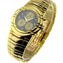 Piaget 14071 Tanagra Chronograph in Yellow Gold - on Bracelet...
