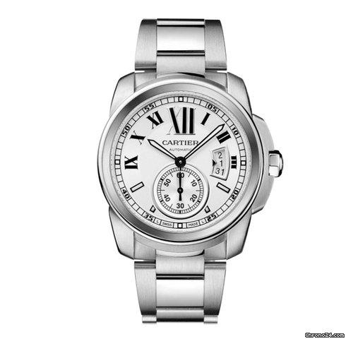 Cartier Calibre Stainless Steel W7100015 Bracelet Calibre de Cartier
